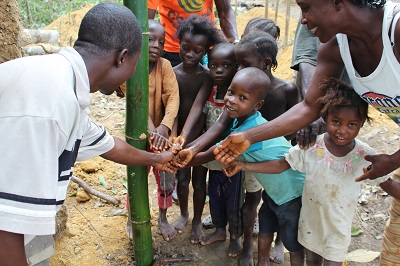 Handwashing in community triggered during Ebola