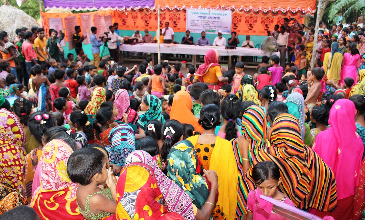 Mass gathering_community led total sanitation in bangladesh_care_clts foundation