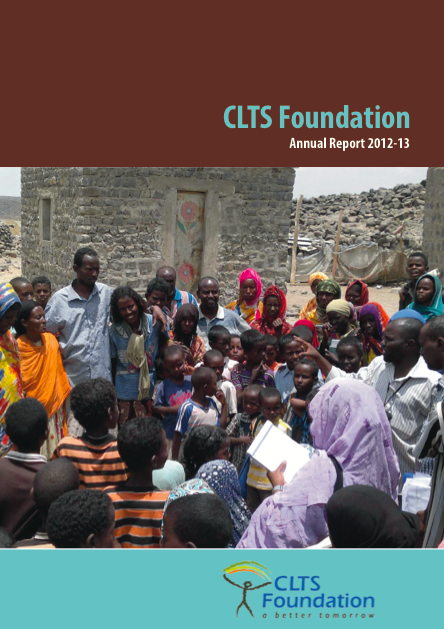 annual report clts foundation 2012-13