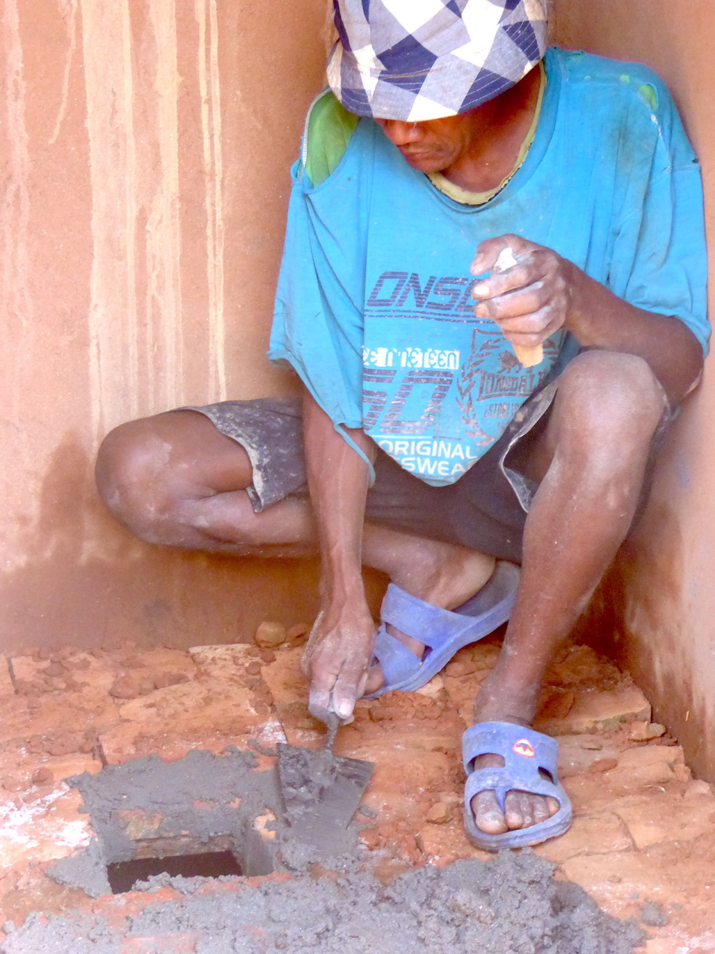 Participatory Technology Development – a Local technician improving a toilet