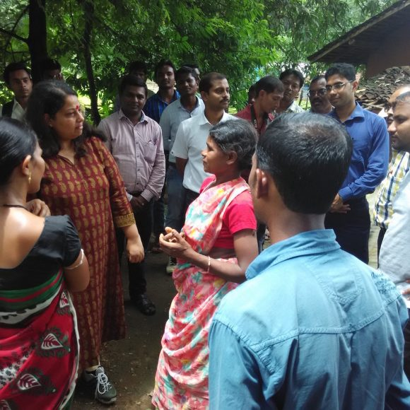 Dr. M. Geetha: Creating an enabling environment to tackle open defecation in Chhattisgarh
