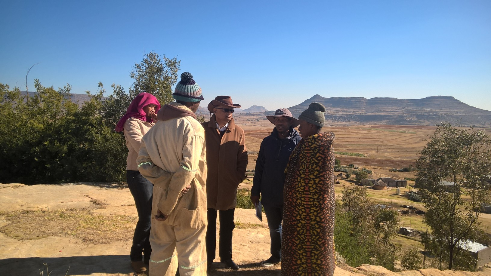 Lesotho case study pics