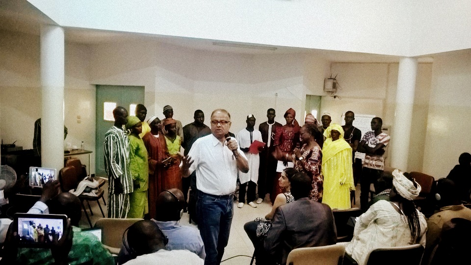 simulation-exercise-by-dr-kamal-kar-in-progress-in-thies-senegal