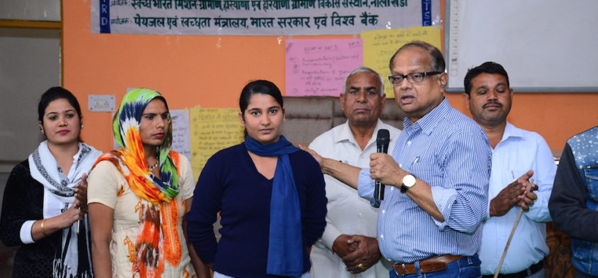 CLTS Foundation begins scaling up institutional triggering in Haryana