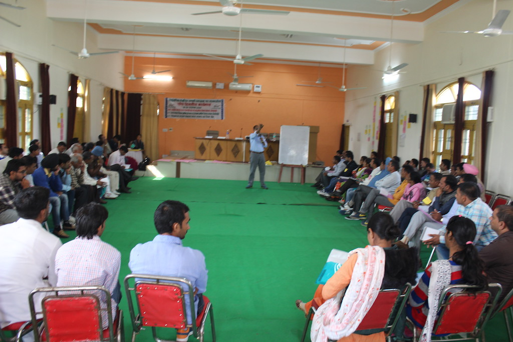 CLTS Foundation scaling up institutional triggering in Haryana