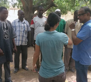 Community Led Total Sanitation: Triggering Session in Beniou village in Burkina Faso