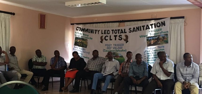 CLTS Foundation facilitates Training of Trainers workshop in Swaziland in partnership with UNICEF, ESARO