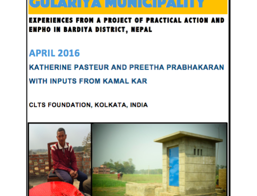 Achieving Open Defecation Free Gularia Municipality in Nepal | CLTS Foundation