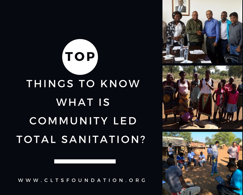 What is Community Led Total Sanitation CLTS