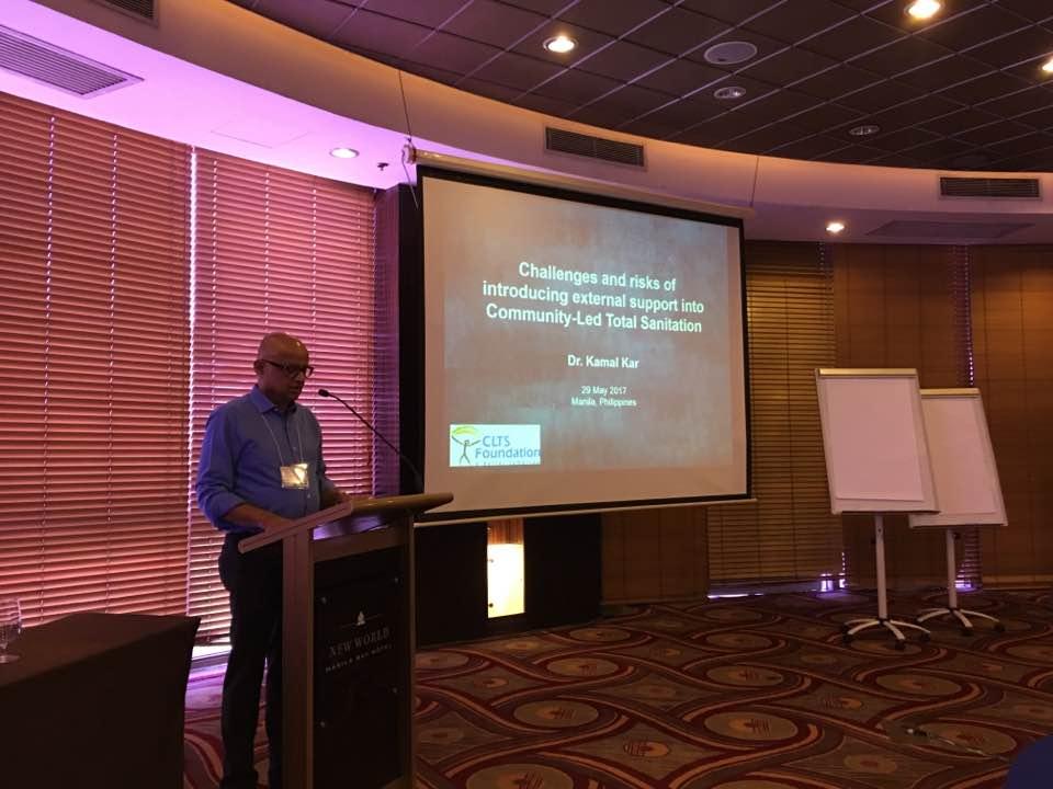 Dr Kamal Kar, Manila Workshop