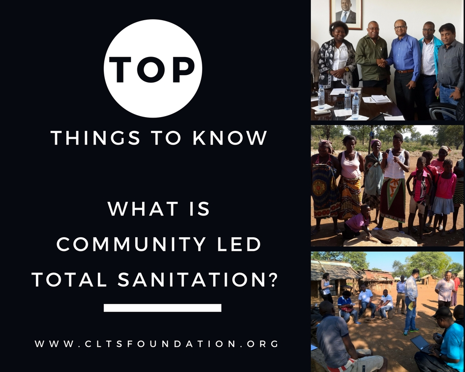 What is Community Led Total Sanitation CLTS